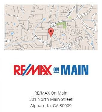 301 North Main Street Alpharetta GA 30009 Location