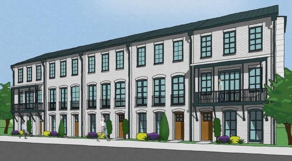 Attached Townhomes In Woodstock City Homes